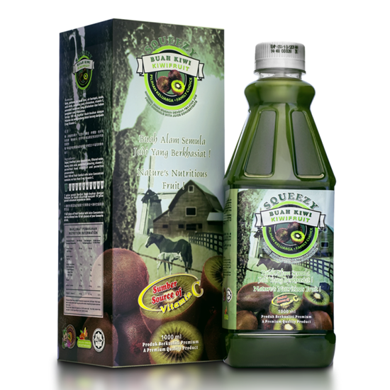 Picture of SQUEEZY Kiwifruit Cordial with Juice Concentrate
