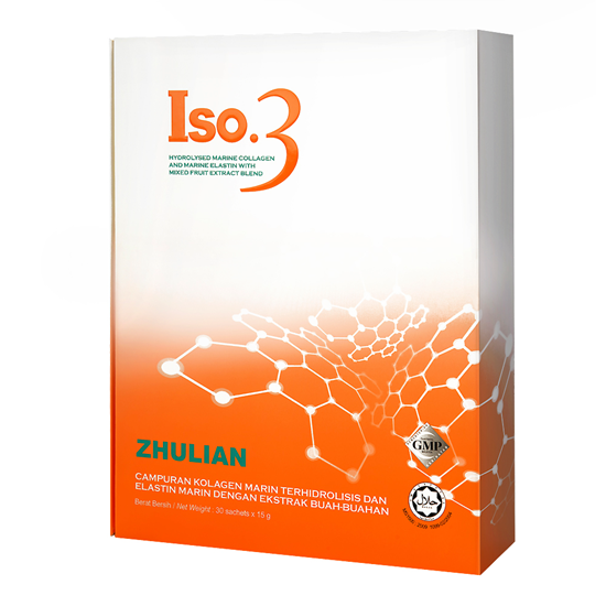 Picture of ISO.3 Hydrolysed Marine Collagen and Marine Elastin with Mixed Fruit Extract