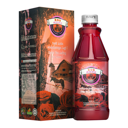 Picture of SQUEEZY Rose Cordial