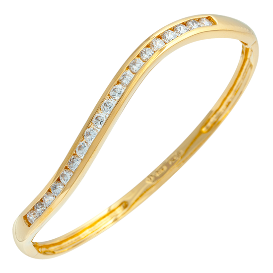 Picture of Gold Plated Bangle Jewellery (BG8434)