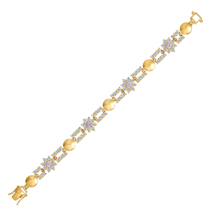 Picture of Bio-Magnetic Gold Plated Bracelet Jewellery (BT8704)