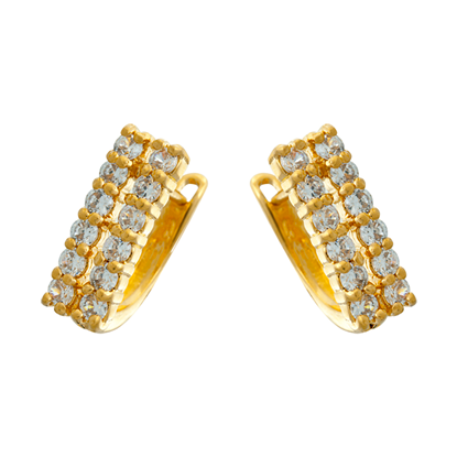 Picture of Gold Plated Earrings Jewellery (ER8655)