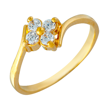 Picture of Gold Plated Ring Jewellery (RG8657)
