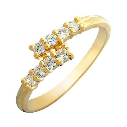 Picture of Gold Plated Ring jewellery (RG8654)