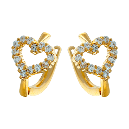 Picture of Gold Plated Earrings Jewellery (ER8668)