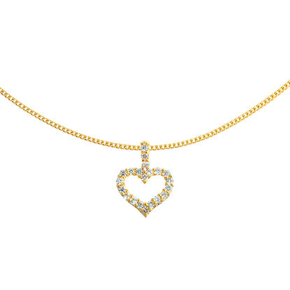 Picture of Gold Plated Pendant Jewellery (PT8666)