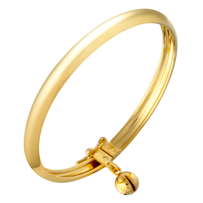 Picture of Gold Plated Bangle Jewellery for Children (BG8526)