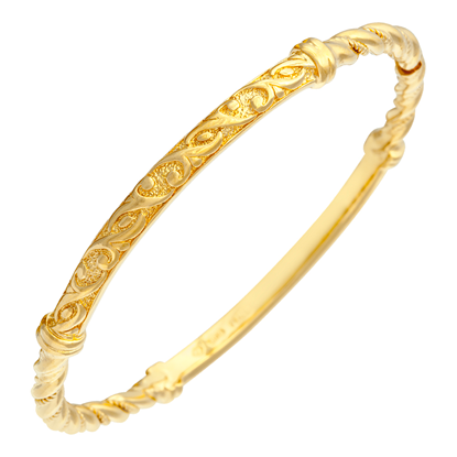Picture of Gold Plated Bangle Jewellery (BG8449)