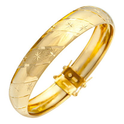 Picture of Gold Plated Bangle Jewellery (BG8458)