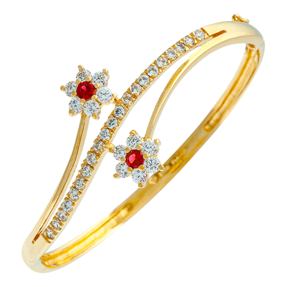 Picture of Gold Plated Bangle Jewellery (BG8583)