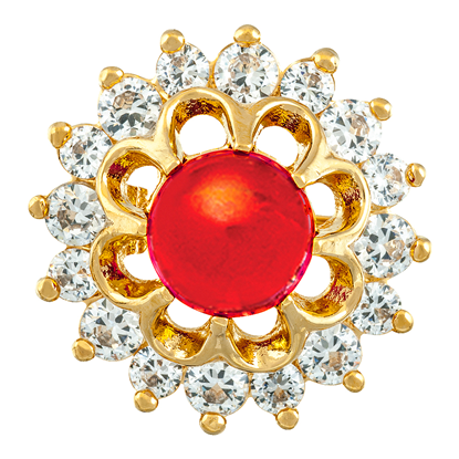 Picture of Gold Plated Brooch Jewellery (BH8328)