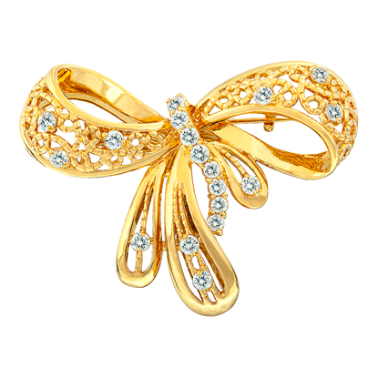 Picture of Gold Plated Brooch Jewellery (BH8537)