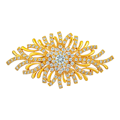 Picture of Gold Plated Brooch Jewellery (BH8829)