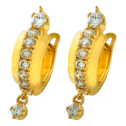 Picture of Gold Plated Earrings Jewellery (ER8260)