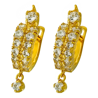 Picture of Gold Plated Earrings Jewellery (ER8262)