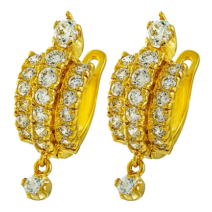 Picture of Gold Plated Earrings Jewellery (ER8263)