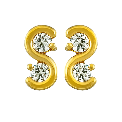 Picture of Gold Plated Earrings Jewellery (ER8267)