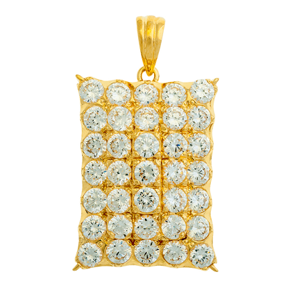 Picture of Gold Plated Pendant Jewellery (PT8121)