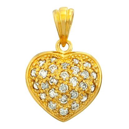 Picture of Gold Plated Pendant Jewellery (PT8340)