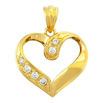 Picture of Gold Plated Pendant Jewellery (PT8342)