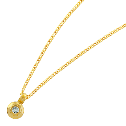 Picture of Gold Plated Pendant Jewellery (PT8368)