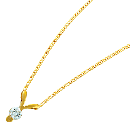 Picture of Gold Plated Pendant Jewellery (PT8369)