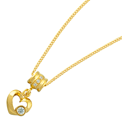 Picture of Gold Plated Pendant Jewellery (PT8370)