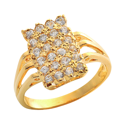 Picture of Gold Plated Ring Jewellery (RG8112)