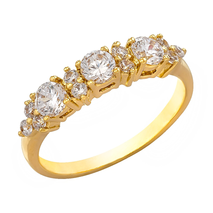 Picture of Gold Plated Ring Jewellery (RG8129)