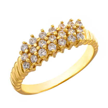 Picture of Gold Plated Ring Jewellery (RG8143)