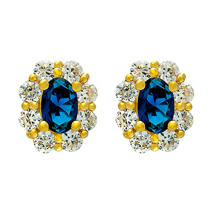 Picture of Gold Plated Earrings Jewellery (ER8109)