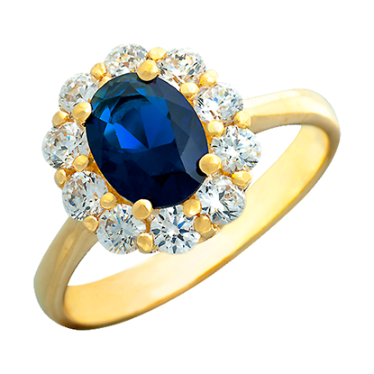 Picture of Gold Plated Ring Jewellery (RG8108)
