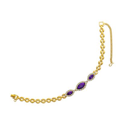 Picture of Gold Plated Bracelet Jewellery (BT8106)