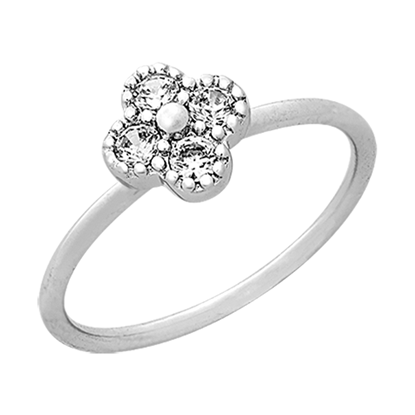 Picture of Rhodium Plated Ring Jewellery (RG8931)