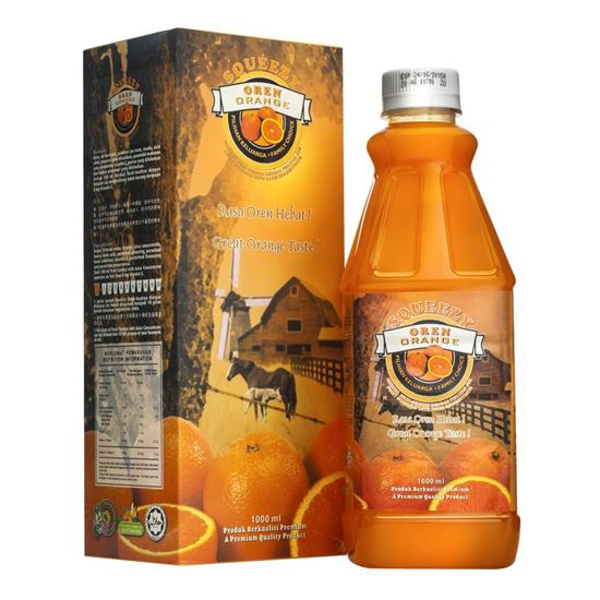 Picture of SQUEEZY Orange Cordial with Juice Concentrate