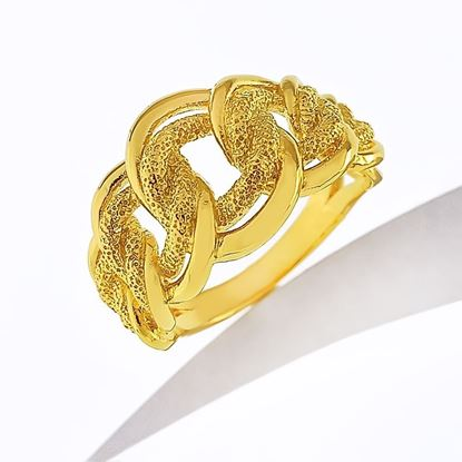 Picture of Gold Plated Ring Jewellery (RG8949)