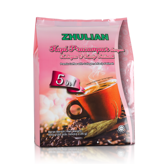 Picture of ZHULIAN Premix Coffee with Collagen & Kacip Fatimah