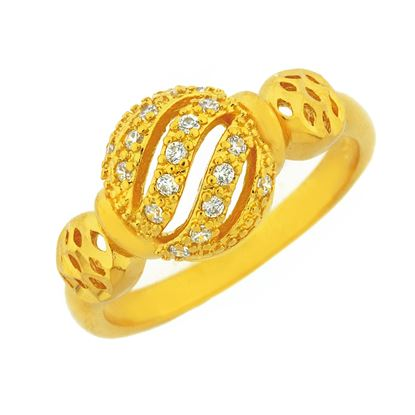 Picture of Gold Plated Ring Jewellery (RG9000)