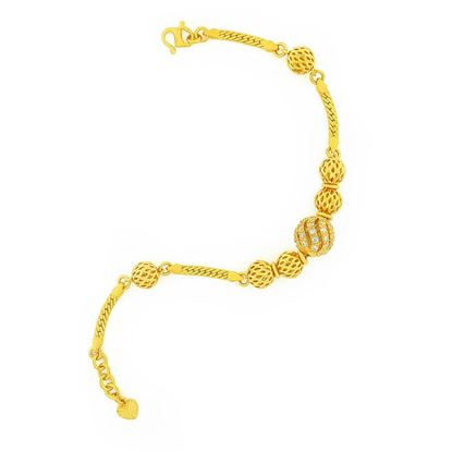 Picture of Gold Plated Bracelet Jewellery (BT9002)