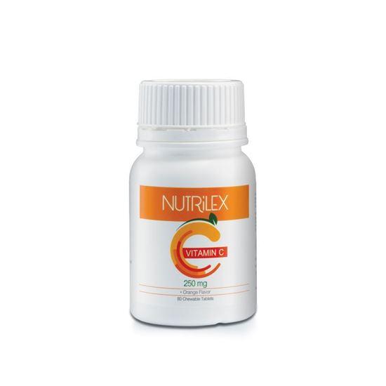 Picture of Nutrilex Vitamin C 250 mg (Orange Flavor)