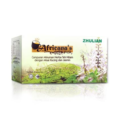 Picture of AFRICANA'S Herbal Beverage Mix of Black Tea with Misai Kucing and Jasmine